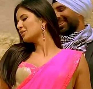 katrina_chiffon_saree_teri_ore-singh_is_king_bollywood