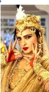 rekha_mugal_e_azam_madhu_bala_pyar_kiya_to_darna_kya_beautiful_most_iconic_movie_actress_heroine_look_desi_bollywood
