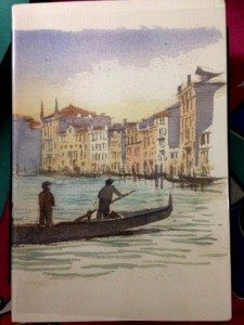 shopping_in_venice_travel_guide_traveling_traveler_tourism_europe_best_stationery_notepad_sketch_pad-sketchpad_painting_grand_canal_gondola_original_hand_made