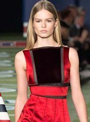 tommy_hilfiger_middle_parting_parted_dirty blonde_hair_sleek_straight_long_new_york_fashion_week_fall_2015