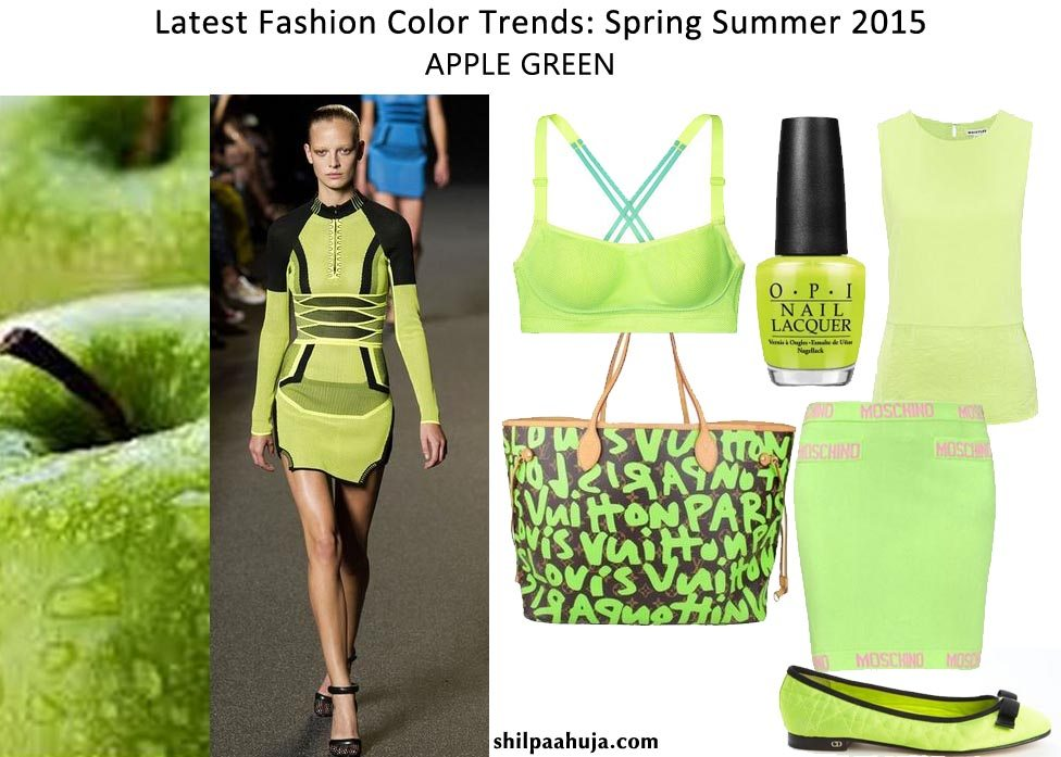Fashion style Color hot Trends5 trends for spring for girls