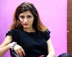 shilpa-ahuja-fashion-black-sweater-chanel-makeup