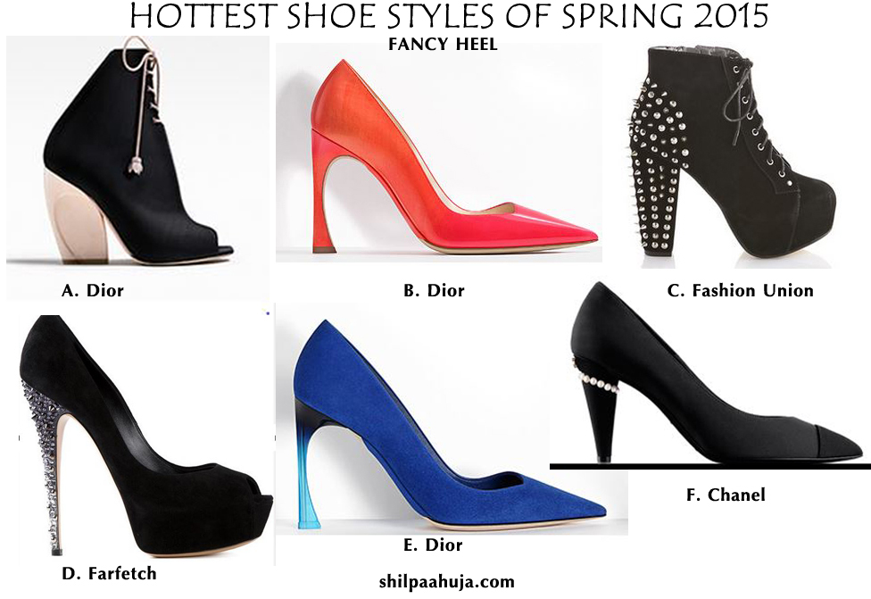 womens_shoes_trends_styles_fashion_spring_2015_fancy_heel_dior_chanel_farfetch_black_pumps_high_blue_orange