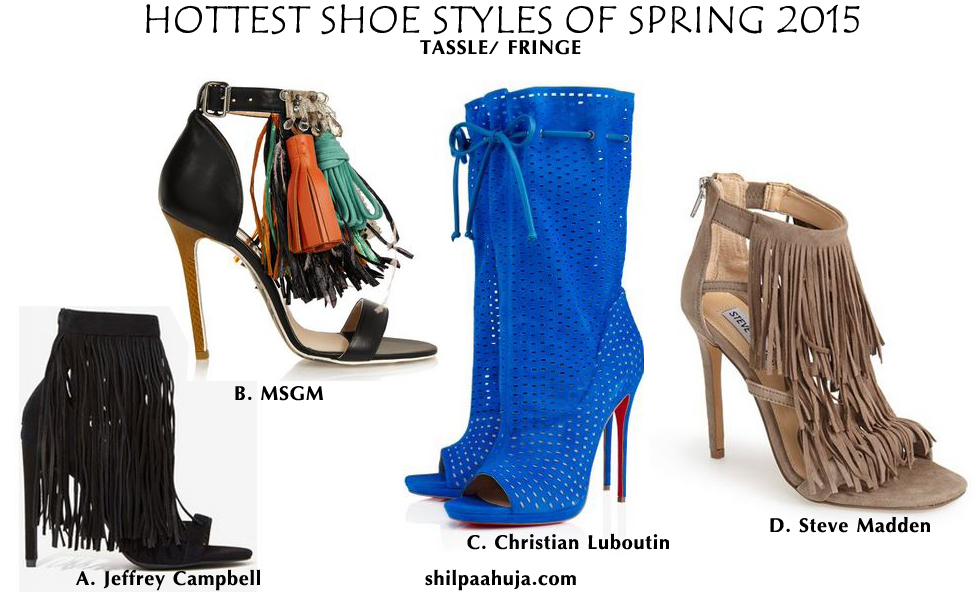womens_shoes_trends_styles_fashion_spring_2015_tassle_high_heels_flats_blue_black_brown_christian_louboutin_msgm_steve_madden_jeffery_campbell