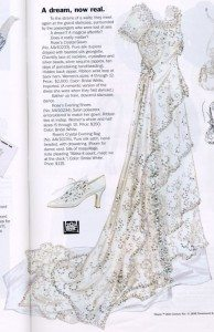 most_iconic_hollywood_white_dress_movie_actress_titanic_kate_winslet_rose_heaven_gown_crystal_real_wedding_copy_replica