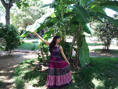 shilpa_ahuja_purple_silk_indian_maxi_dress_auroville_pondicherry_travel_fashion_lifestyle_tourism_ideas_4