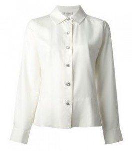 yves_saint_laurent_vintage_white_shirt_diamante_work_wear_wardrobe_essential_items