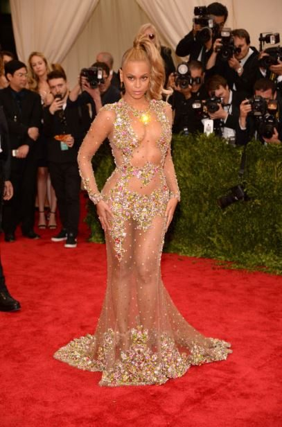 2015_met_gala_gown_dress_outfit_beyonce_sheer_nude_net_sequin_naked_bad_worst_beige