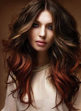 haircut_hairstyle_spring_summer_latest2015_womens_fashion_style_color_brunette_auburn_highlights_for_warm_indian_skin_tones