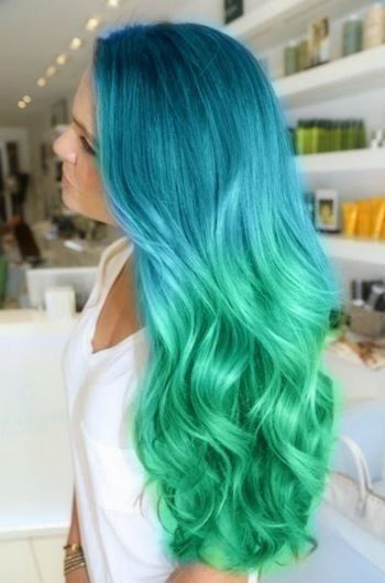 haircut_hairstyle_spring_summer_latest2015_womens_fashion_style_color_green_turquoise_ombre_unicorn_blue