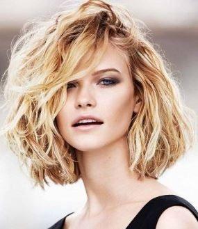 haircut_hairstyle_spring_summer_latest2015_womens_fashion_style_messy_medium_wavy_short_bangs_bob_blonde