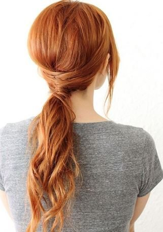 hairstyle_womens_latest_2015_spring_summer_easy_tie_pony_tail_twist_criss_cross