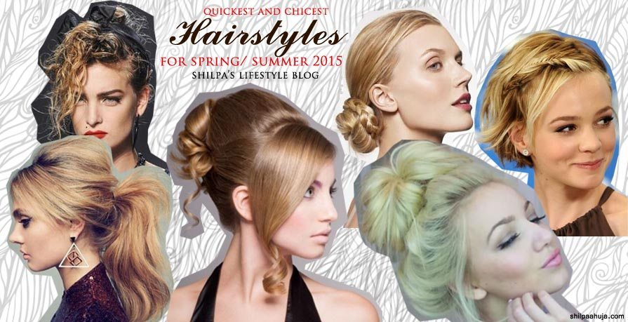 hairstyle_womens_latest_2015_spring_summer_messy_bun_fishtail_braid_office_work_casual_different_cool_party
