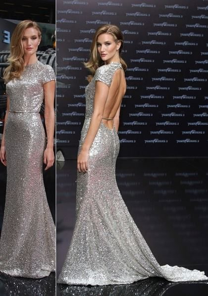 rosie_huntington_whitley_transformers_3_dark_of_the_moon_grey_sparkle_sequin_berlin__backless_premiere_sexy_hot