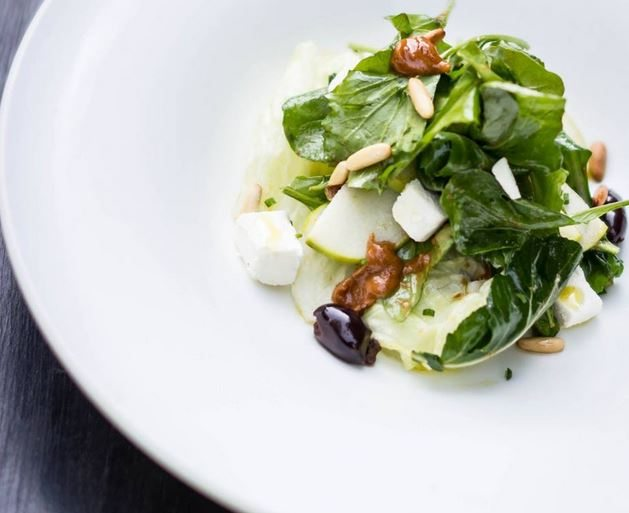 salad_arugula_pine_nuts_cheese_feta_fruit_olive_bar_and_kitchen_bandra_mumbai_bombay_best_european_italian_restaurant_expensive_classy_beautiful_tasty