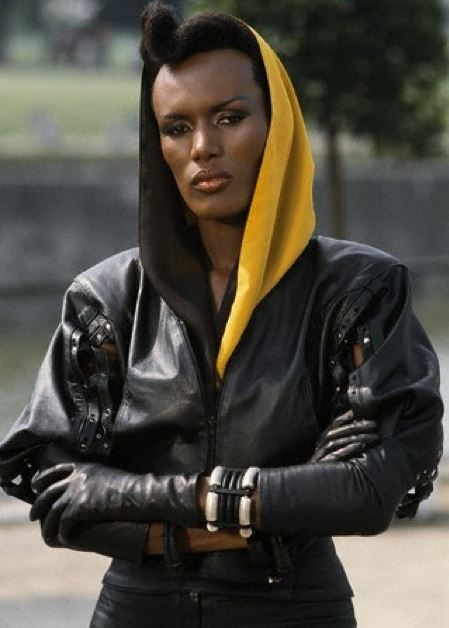 bond_girl_fashion_best_ever_sexy_hot_outfit_dress_may_day_grace_jones_leather_jacket_hoodie_adrogynous_look