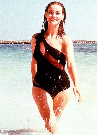 bond_girl_fashion_best_ever_sexy_hot_outfit_dress_thunderball_swimsuit_black_sheer_claudine_auger_domino