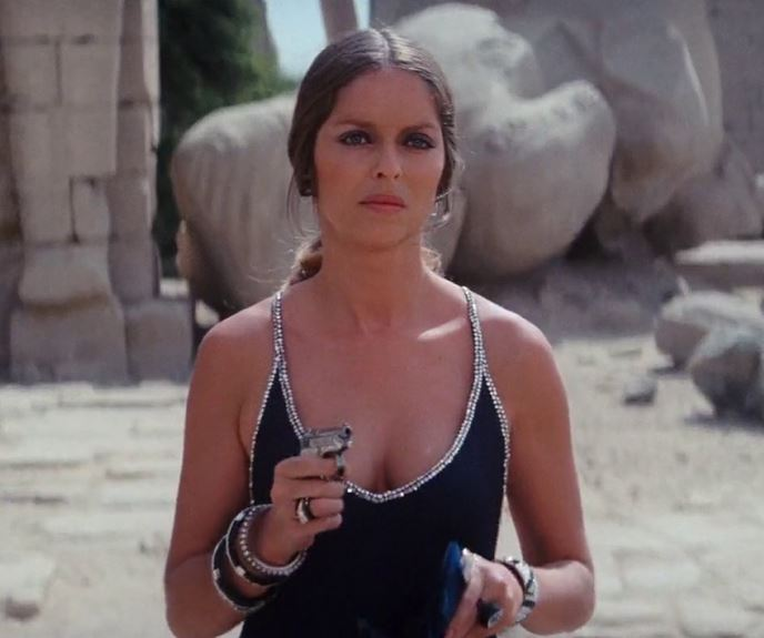 bond_girl_fashion_best_ever_sexy_hot_outfit_gown_dress_diamond_black_spy_who_loved_me_barbara_bach_agent_triple_x