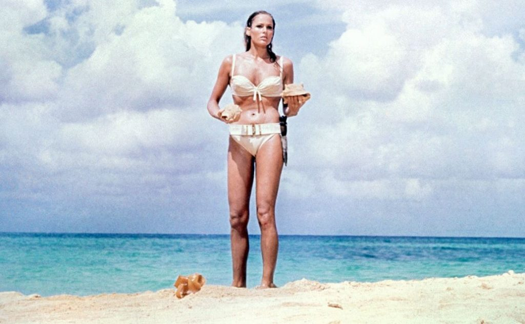 bond_girl_fashion_best_ever_sexy_hot_outfit_swim_suit_wear_bikini_white_ursula_andress_honey_ryder_dr_no_james