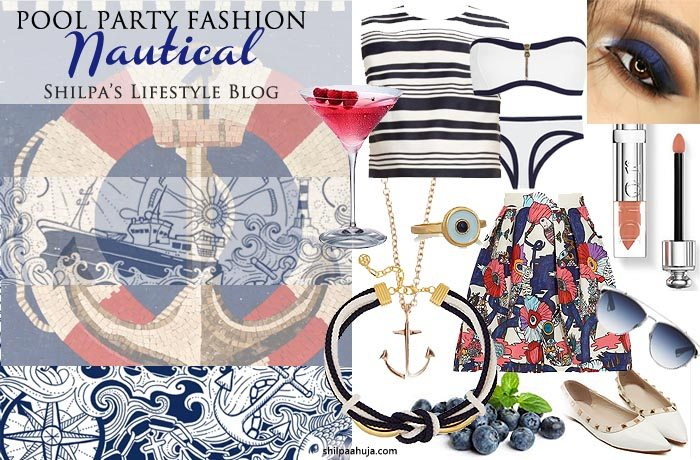 nautical_pool_party_dress_casual_summer_look_barbecue_weekend_monsoon_shopping_style_fashion_outfit_ideas_blue_white_bikini_eyeshadow_skirt