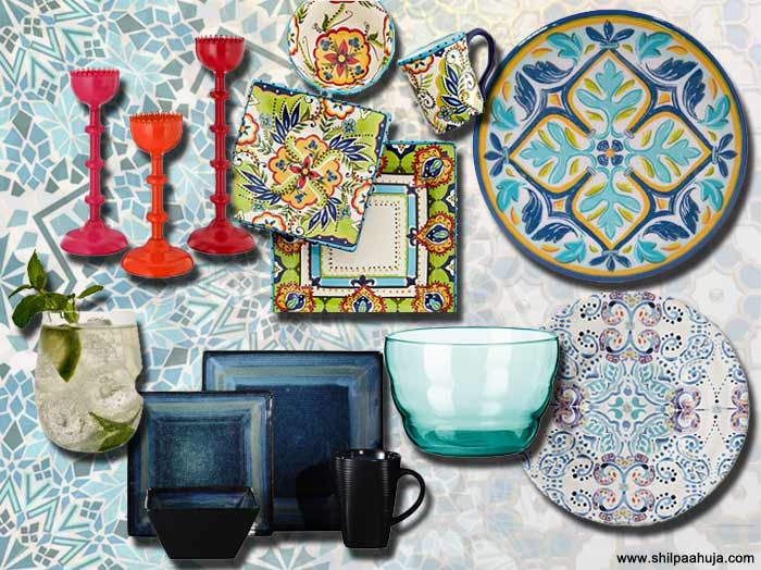 summer_kitchen_dining_interior-decoration_design_lamp_moroccan_persian_products_bright_foral_anthropologie_blue_white_idea