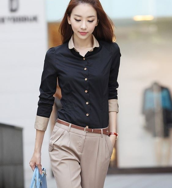 work_wear_office_outfit_power_dressing_women_ideas_professional_business_black