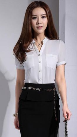 work_wear_office_outfit_power_dressing_women_ideas_professional_business_skirt_black_shirt
