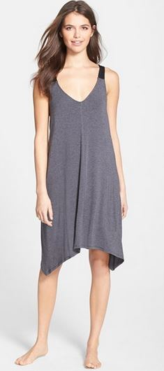 grey_sleep_shirt_dress_chemise_sexy_night_wear_cotton_nordstorm_comfy