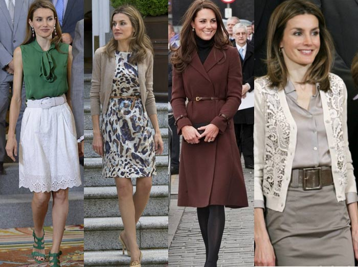 how_to_dress_like_royalty_princess_letizia_kate_middleton_belt_skinny_skirt_dress_coat