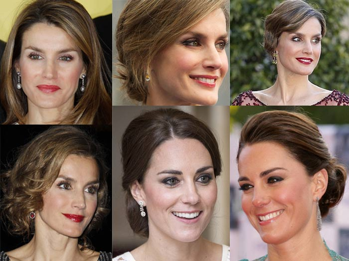 how_to_dress_like_royalty_princess_letizia_kate_middleton_hairstyle_makeup_party_casual