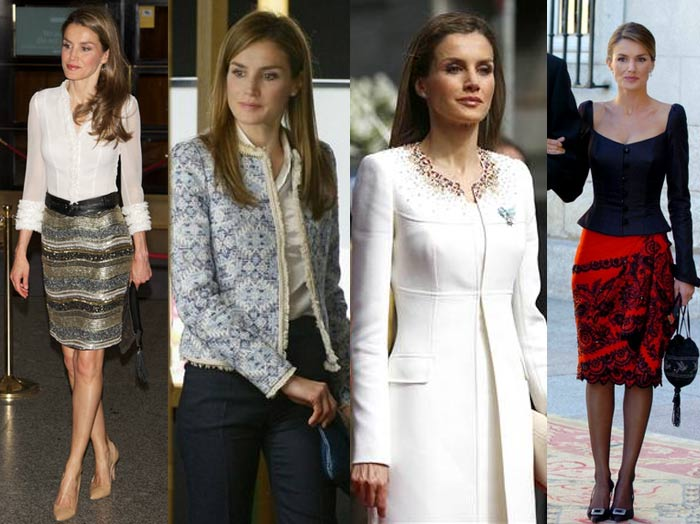 how_to_dress_like_royalty_princess_letizia_trimming_ruffle_skirt_sequin_tweed