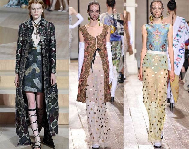 mixing_mixed_patterns_texture_fabric_sheer_winter_fall_autumn_2015_couture_trends