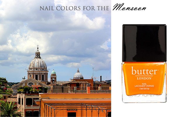 rome_nail_polish_mango_match_city_fashion_italy_europe_monsoon_rainy_day_rain_vatican_city_terracotta_view_bright_peach_butter_fall_latest_trend