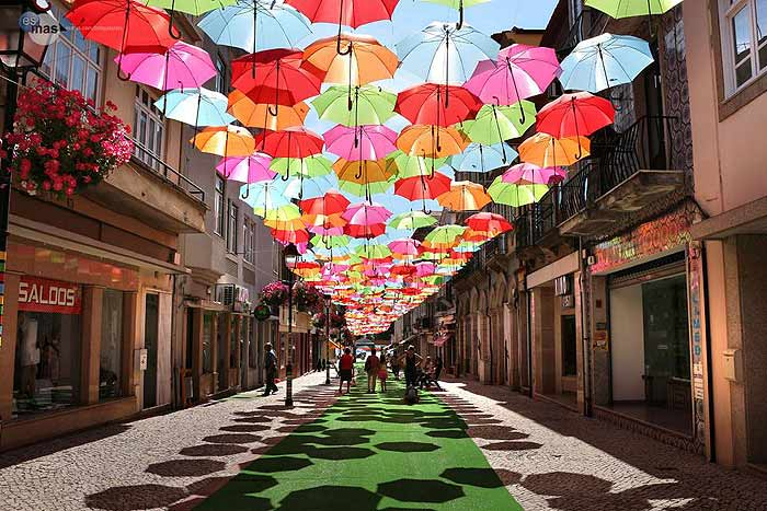 umbrellas_colorful_color_installation_public_art_sculpture_portugal_street_europe_beautiful_floating