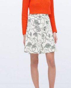 white_a-line_knee_length_skirt_zara_online_shopping_womens_printed