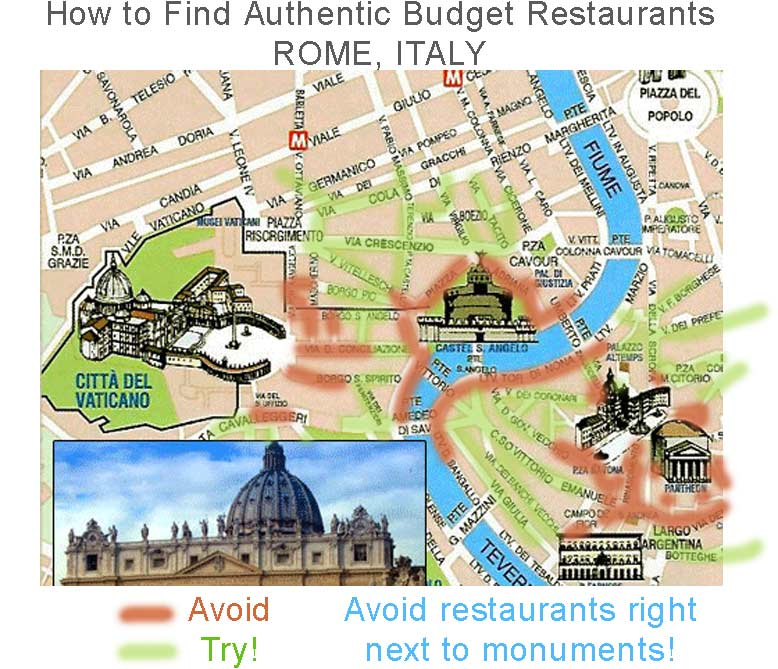 how_to_choose_authentic_budget_italian_restaurant_in_rome_italy_travel_tips_tourism