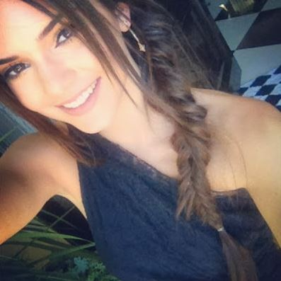 Kendall Jenner gives the messy side-braid a try
