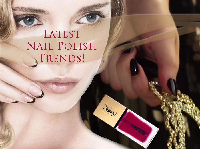 2016 Fall Colors Nail Polish Trends