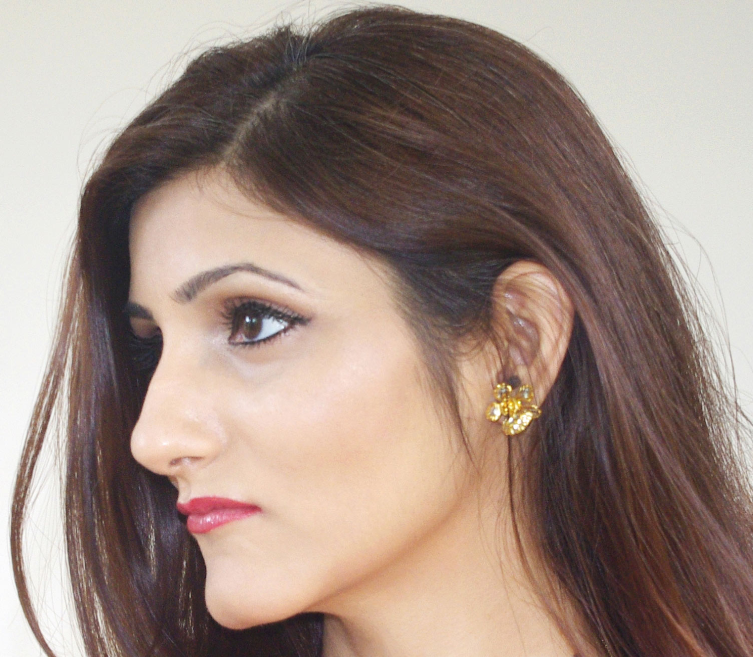 shilpa-ahuja-indian-fashion-blogger-red-lipstick-party-makeup-for-summer-1