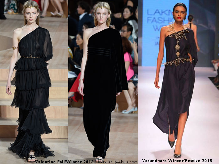 vasundhara_2015_collection_lakme_fashion_week_winter_black_one_shoulder_dress_like_valentino