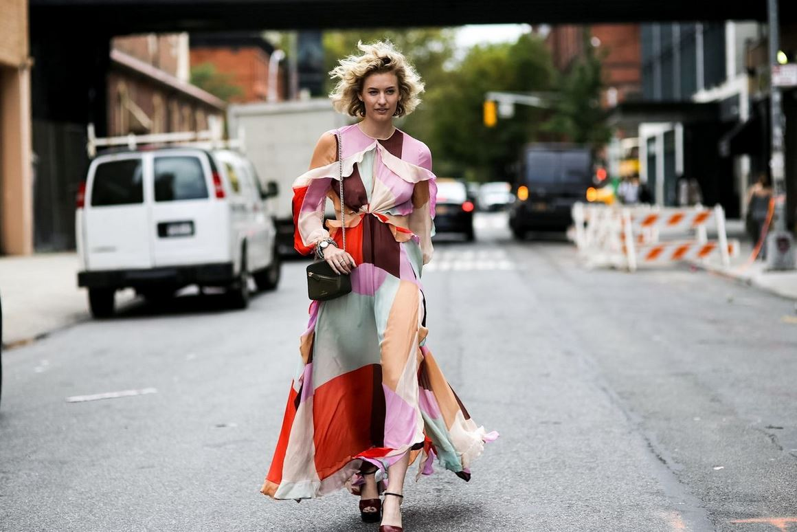 Best Latest Street Fashion New York Fashion Week Spring