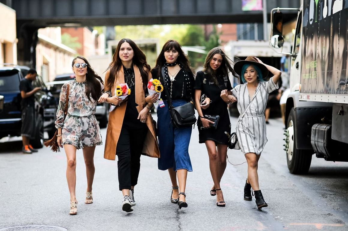 Best Street Fashion New York Fashion Week Ss 2016