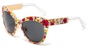best-sunglasses-2015-latest-trends-womens-fall-winter-2016-dolce-gabbana-mosaic-flower-pattern-frame-cat-eye