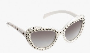 best-sunglasses-2015-latest-trends-womens-fall-winter-2016-prada-cat-eye-white-frame--embellished-metallic-studs-spikes