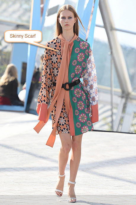 london-fashion-week-ready-to-wear-spring-summer-2016-best-looks-skinny-scarf