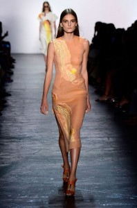 prabal-gurung-spring-2016-best-looks-summer-new-york-fashion-week-trends-top-best-pale-saffron-art-dress