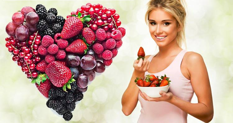 skin-care-tips-fibrous-foods-for-healthy-berries-heart-fiber-nutrition