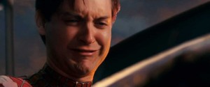 Tobey Maguire-hollywood-actor-disappointed-crying-spiderman