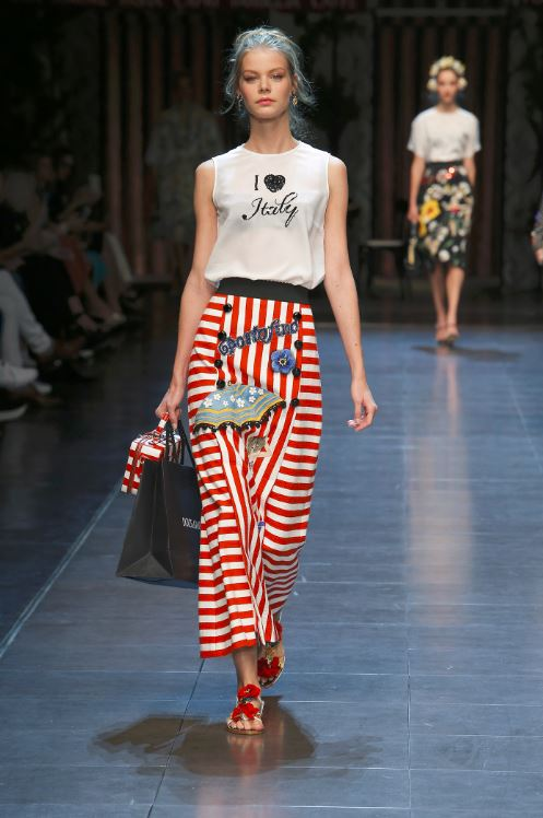 10 things to love about dolce and gabbana summer 2016 for Milan show 2016