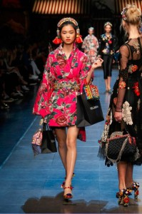 15-dolce-and-gabbana-spring-summer-2016-dress-pink-floral-broad-belt-headphones
